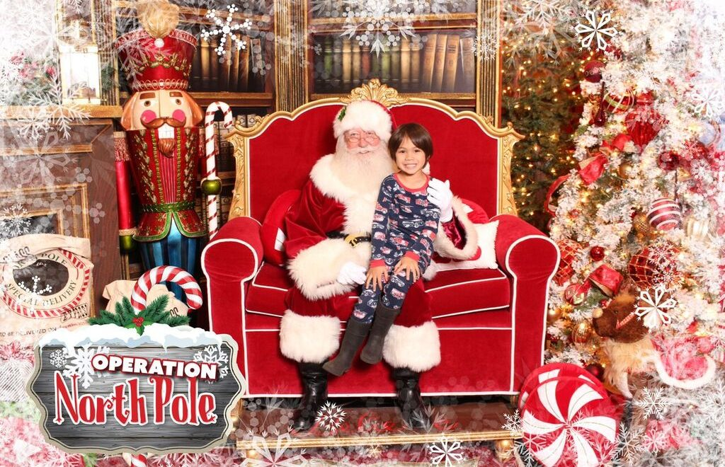 Visit Santa and Mrs. Claus at Operation North Pole
